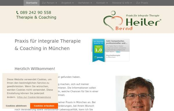Vorschau von www.berndheiler.de, Bernd Heiler
