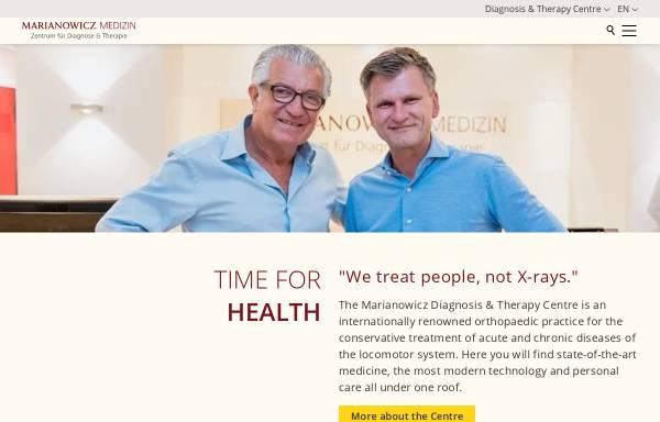 Vorschau von www.marianowicz.de, Marianowicz Medizin, Dr. med. Martin Marianowicz