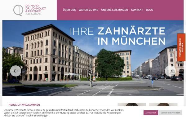 Vorschau von www.schmidseder-mardi.de, Dr. Schmidseder und Dr. Mardi, Zahnärzte