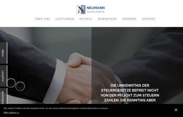 Vorschau von www.askpn.de, Steuerberater Peter Neumann