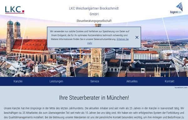 Vorschau von www.bayerntax.de, Weichselgärtner und Brockschmidt GbR
