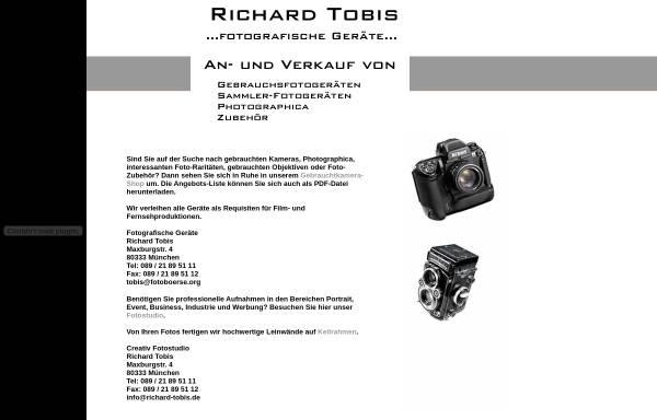 Vorschau von www.fotoboerse.org, Fotografische Geräte Richard Tobis
