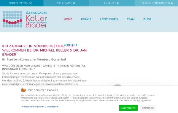 Vorschau von www.nuernberger-zahnarzt.de, Zahnarztpraxis Dr. Michael Keller und Kollegen