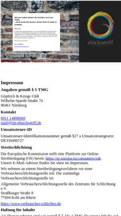 Vorschau der mobilen Webseite www.webdesign-nbg.de, Webdesign und Kommunikation, Günter Göpfrich