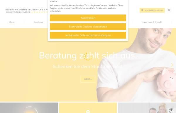Vorschau von www.dlh-online.de, Deutsche Lohnsteuerhilfe e.V.
