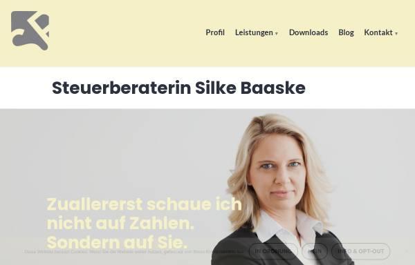 Vorschau von www.stb-baaske.de, Silke Baaske - Steuerberaterin