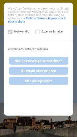 Vorschau der mobilen Webseite www.kieferorthopaede-schubert.de, Dr. med. dent. Michael Schubert, Kieferorthopäde