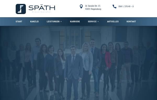 Vorschau von www.spaeth-stb.de, Steuerberaterkanzlei Oliver Späth