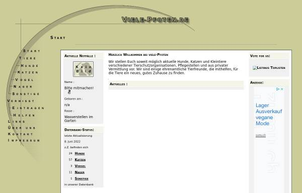 Vorschau von tierheim.heinrich-media.com, Tierschutzverein Straubing u.U. e.V.