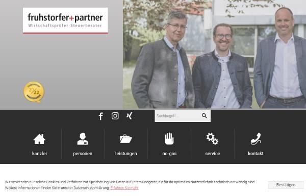 Vorschau von www.fruhstorfer-partner.de, fruhstorfer+partner Steuerberatungsgesellschaft mbB