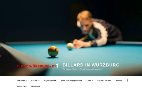 Vorschau von billard-wuerzburg.de, 1. Pool Billard Club Würzburg/KT