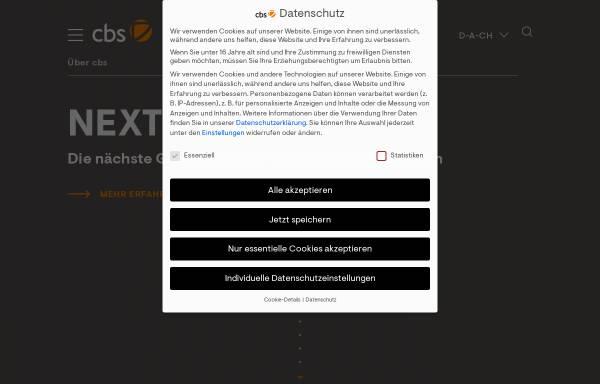 Vorschau von www.consulting-business-solutions.de, CBS Consulting Business Solutions GmbH