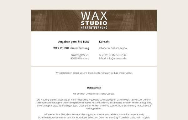 Vorschau von www.wuewax.de, Wax Studio Haarentfernung