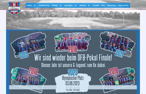 Vorschau von www.askania-coepenick.de, SV Askania Coepenick e.V.