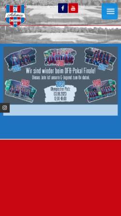 Vorschau der mobilen Webseite www.askania-coepenick.de, SV Askania Coepenick e.V.
