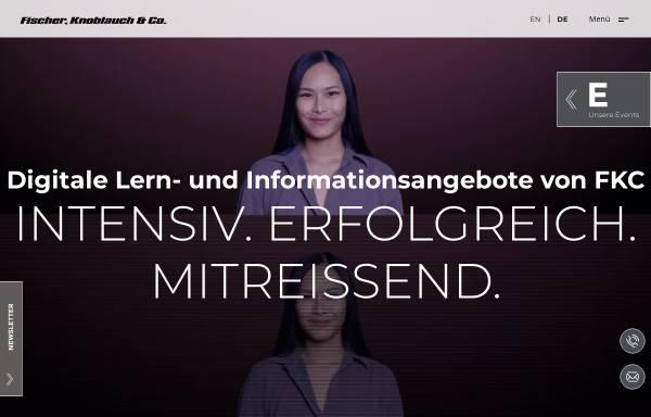 Vorschau von www.fkc-online.de, Fischer, Knoblauch & Co. Medienproduktionsgesellschaft mbH