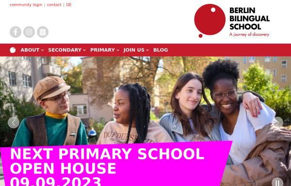 Vorschau von berlin-bilingual-school.de, Berlin Bilingual School