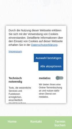 Vorschau der mobilen Webseite www.hnozentrum-kudamm.de, Göktas, PD Dr. med. Önder
