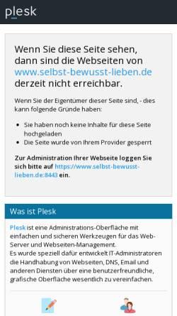 Vorschau der mobilen Webseite www.selbst-bewusst-lieben.de, Selbst.bewusst.lieben