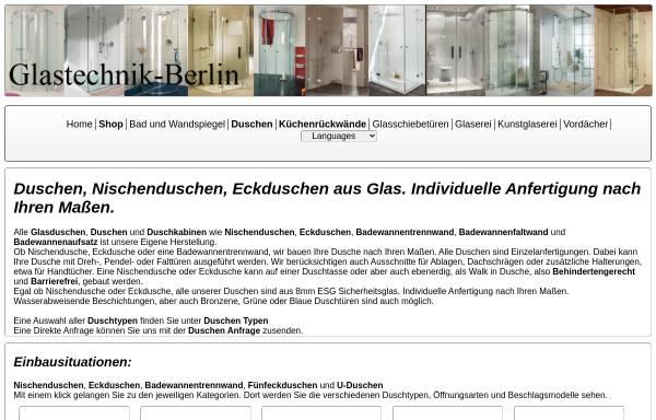 Vorschau von www.glastechnik-berlin.de, Glastechnik-Berlin