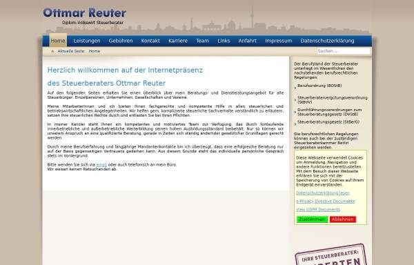 Vorschau von www.ottmar-reuter.de, Dipl.-Volkswirt Ottmar Reuter