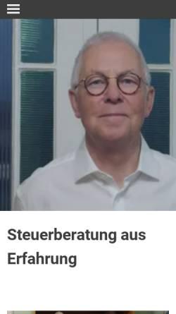 Vorschau der mobilen Webseite www.drtax.de, Dr. Hans-Jüegen Kaminski - Steuerberater