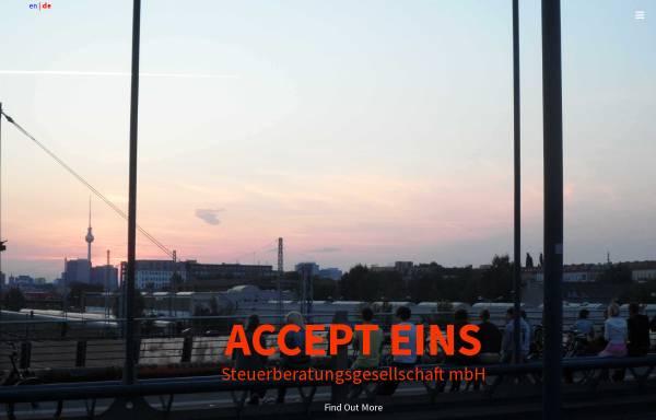 Vorschau von www.accept1.de, Accept Steuerberatungsgesellschaft mbH
