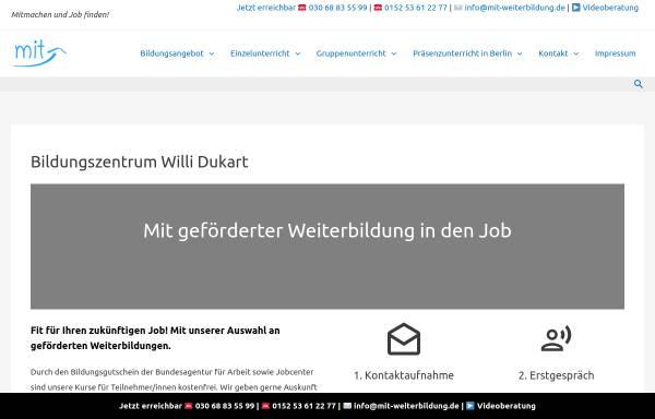 Vorschau von mit-weiterbildung.de, Willi Dukart