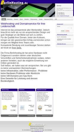Vorschau der mobilen Webseite www.berlinhosting.de, Jan Rabensdorf