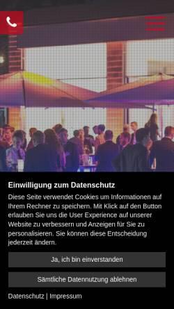 Vorschau der mobilen Webseite www.lord-of-event.de, Lord of Event GmbH