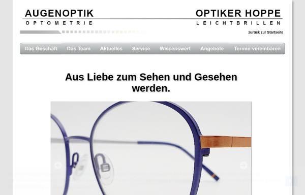 Vorschau von www.leichtbrille.com, Optik Vision Hoppe