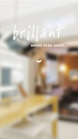 Vorschau der mobilen Webseite www.brillant.berlin, Brillant-Augenoptik