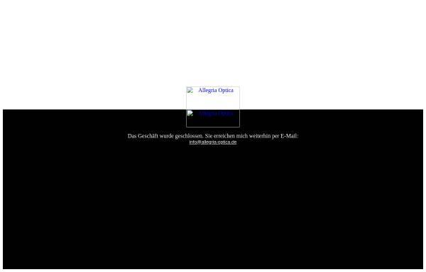 Vorschau von www.allegria-optica.de, Allegria Optica