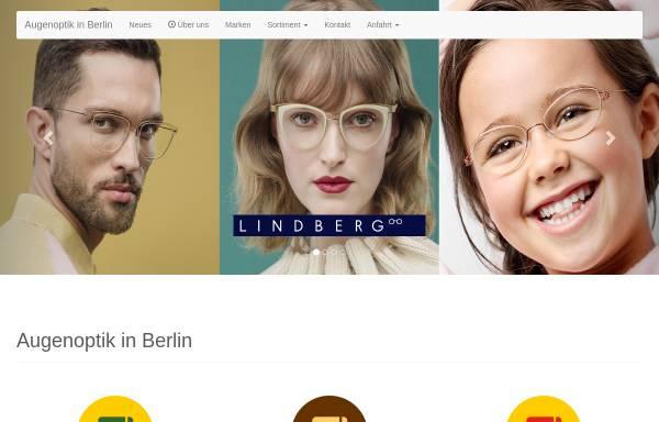 Vorschau von www.augenoptik-in-berlin.de, Brillen in Berlin GmbH