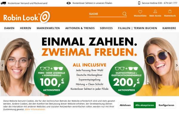Vorschau von www.robinlook.de, Robin Look GmbH