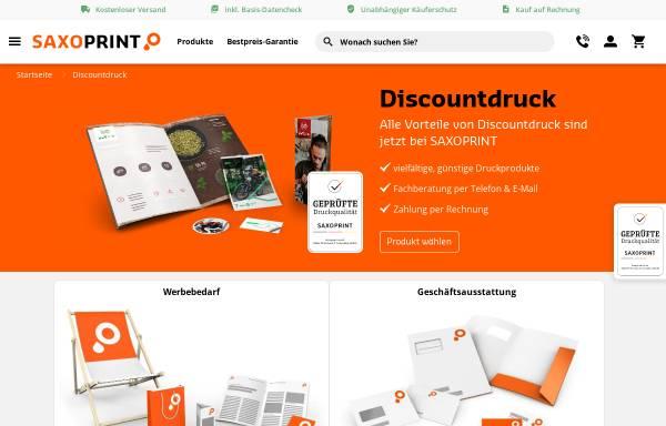 Vorschau von www.discountdruck.de, Discountdruck GmbH