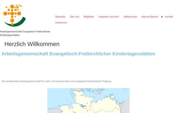 Vorschau von www.agef-kitas.de, Arbeitsgemeinschaft evangelisch-freikirchlicher Kindertagesstätten