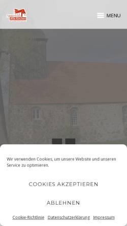 Vorschau der mobilen Webseite www.kirchen-luckauer-niederlausitz.de, Förderkreis Alte Kirchen der Luckauer Niederlausitz e.V.