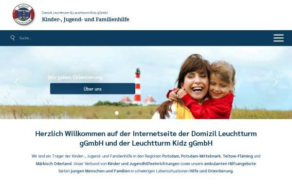 Vorschau von domizilleuchtturm.de, Domizil Leuchtturm GmbH