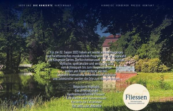 Vorschau von www.brandenburgische-sommerkonzerte.org, Brandenburgische Sommerkonzerte gGmbH