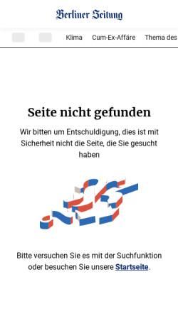 Vorschau der mobilen Webseite www.berliner-zeitung.de, In Bernau wurden 28 Menschen während der Hexenverfolgung verbrannt - Berliner Zeitung