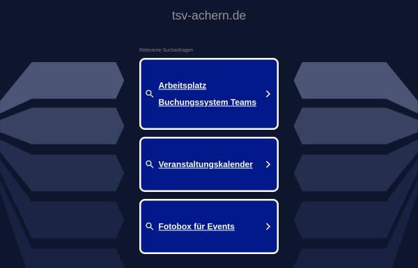Vorschau von www.tsv-achern.de, Tierschutzverein Achern und Umgebung e.V.