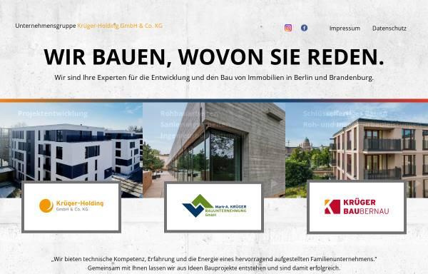 Vorschau von www.krueger-holding.com, Krüger Holding GmbH & Co. KG
