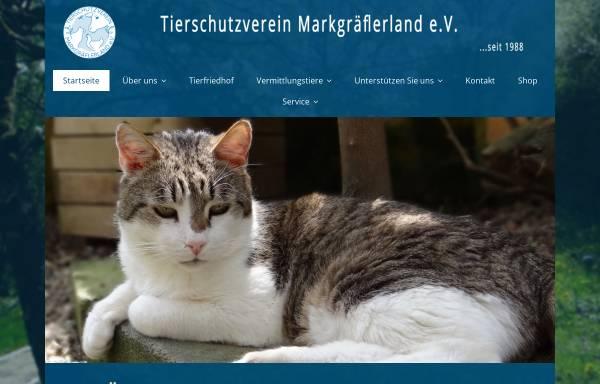 Vorschau von www.tierschutzverein-markgraeflerland.de, Tierschutzverein Markgräflerland e.V.