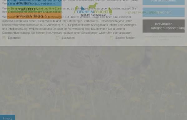 Vorschau von www.tierheim-feucht.de, Tierheim Feucht