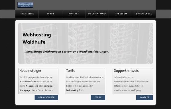 Vorschau von webhosting-waldhufe.de, Webhosting Waldhufe - Inh. Marco Hänisch