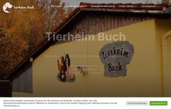 Vorschau von www.tierschutzaktiv.de, Tierschutz Aktiv e.V. Passau Stadt und Land