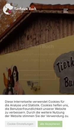 Vorschau der mobilen Webseite www.tierschutzaktiv.de, Tierschutz Aktiv e.V. Passau Stadt und Land