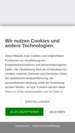 Vorschau der mobilen Webseite www.boeckmann-havelland.com, Böckmann Center Havelland