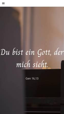 Vorschau der mobilen Webseite www.ev-kirchen-havelland.de, Evangelischer Kirchenkreis Nauen-Rathenow